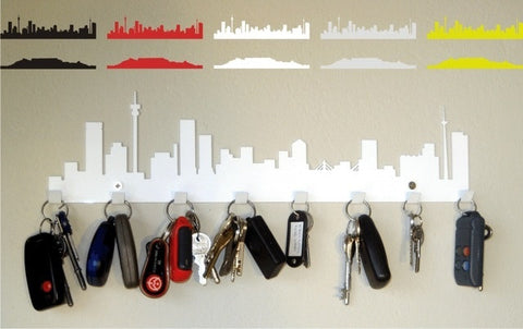Jozi Key Rack White