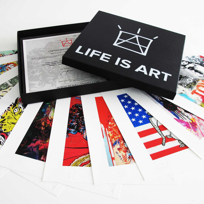 Life Is Art - Box Set (Print Only)