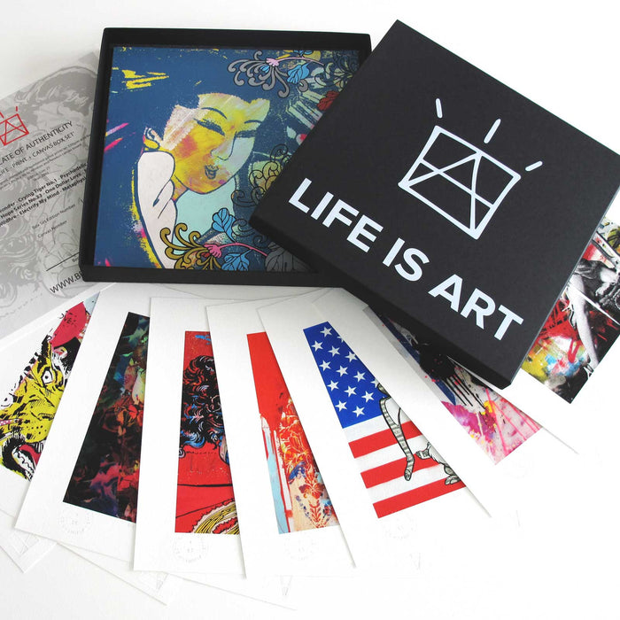Life Is Art - Canvas Box Set 4