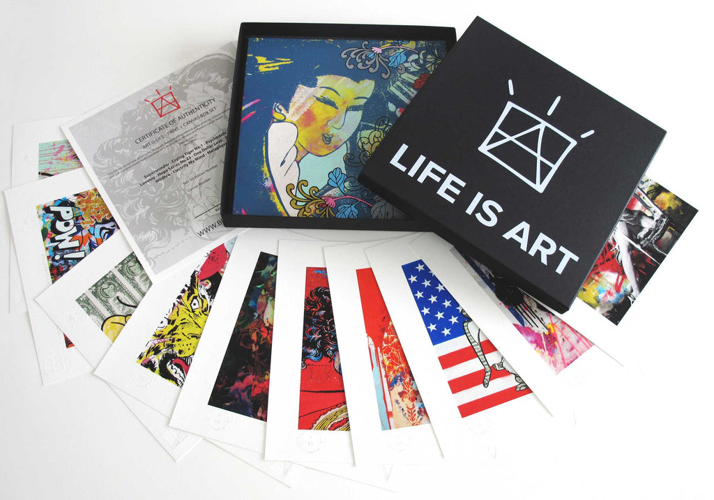 Life Is Art - Canvas Box Set 1
