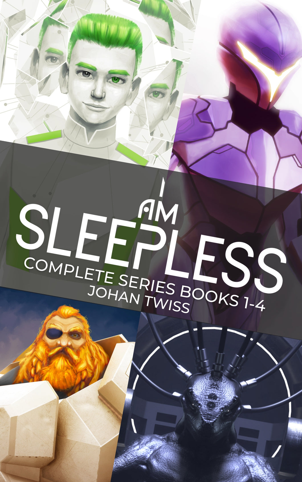 I Am Sleepless Complete Series Books 1-4 (Signed Paperbacks)