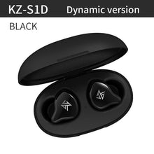 Load image into Gallery viewer, KZ S1 S1D TWS True Wireless Bluetooth 5.0 Earphones Dynamic/Hybrid Earbuds Touch Control Noise Cancelling Sport Headset