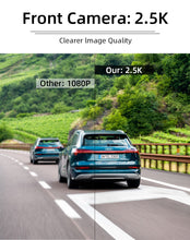 Load image into Gallery viewer, 10 inches Touch Screen Rear view camera 2.5K Car DVR stream