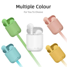Load image into Gallery viewer, Mini-2 TWS Wireless Earphones Bluetooth 5.0 Headsets Sports Earbuds Headset With Mic Charging Box For iPhone Xiaomi PK i9s i7s