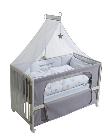 Roba Room Bed 60x120 cm - Rock Star Baby 2