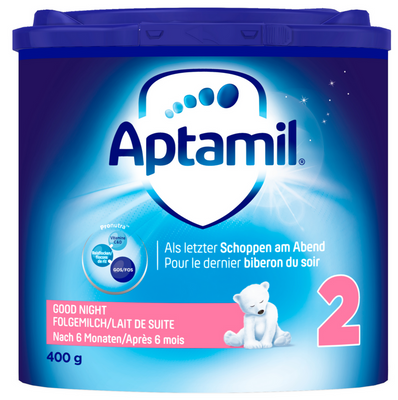 Aptamil Folgemilch Aptamil Good Night 2, 400g, nach 6 Monaten