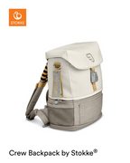 JetKids by Stokke Crew Backpack White