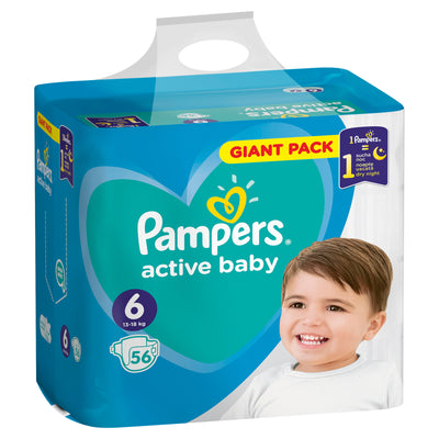 Pampers Windeln Junior 56Stk. 13-18kg