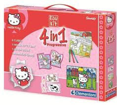 Clementoni 4 in 1 Hello Kitty
