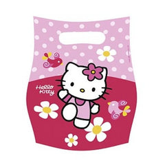 6 Party-Taschen Hello Kitty