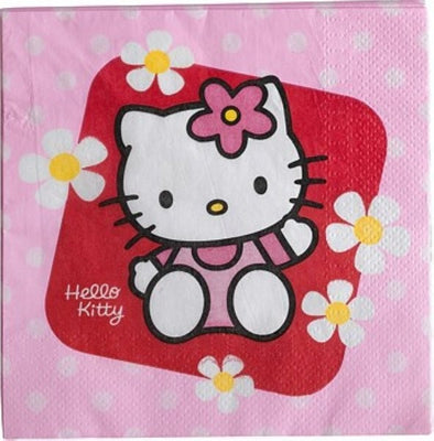 20 Servietten Hello Kitty