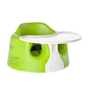 Bumbo Kindersitz mit Tablett