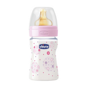 Chicco Glasfläschchen 150ml well being 0+