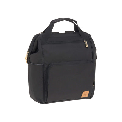 Lässig Wickelrucksack Glam Goldie Backpack black