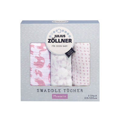 Julius Zöllner Swaddle Tücher - 3er Pack