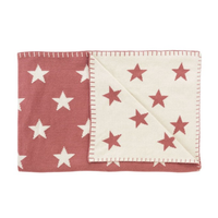 Schardt Babykuscheldecke - Big Star sunset red