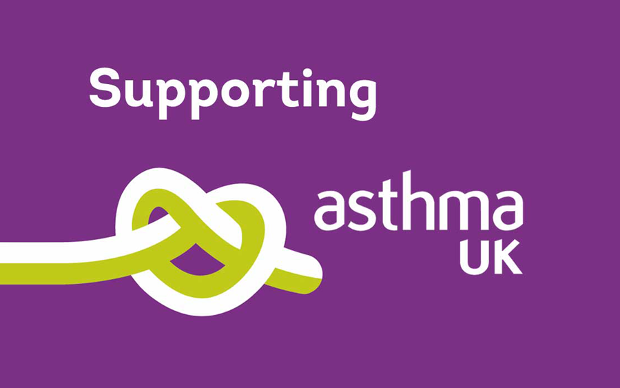 Little Knights paint pledges to support Asthma UK