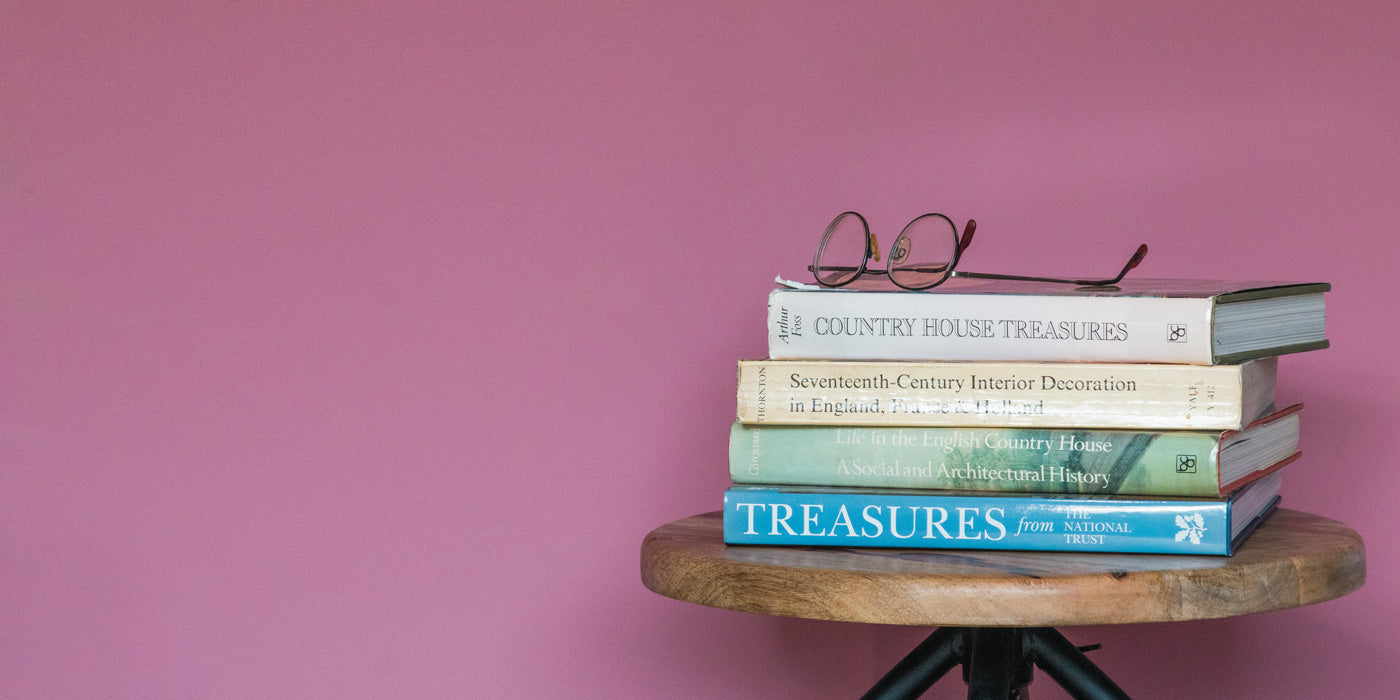 Suffolk Pink - this month's featured colour