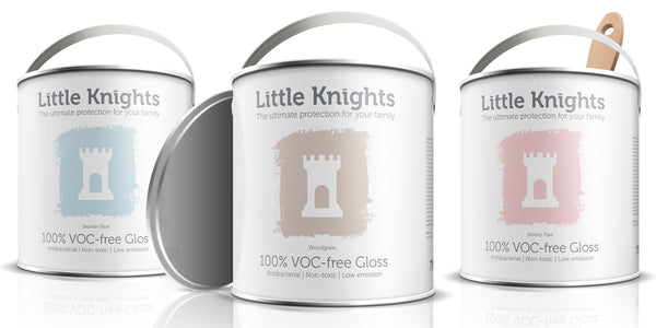 Little Knights gloss now available in all colours