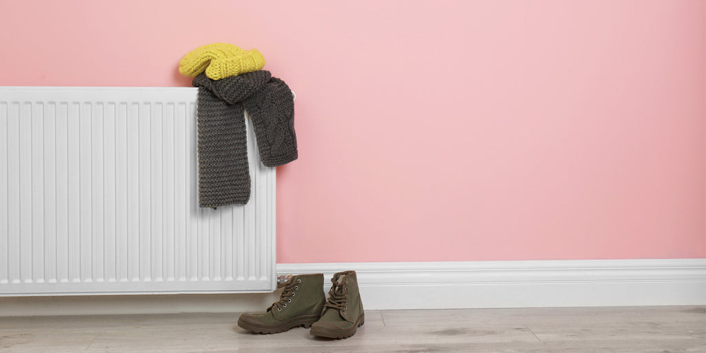 Why you shouldn't dry clothes on a radiator
