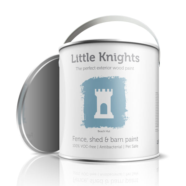 Beach Hut - wood paint - 100ml Sample Tin