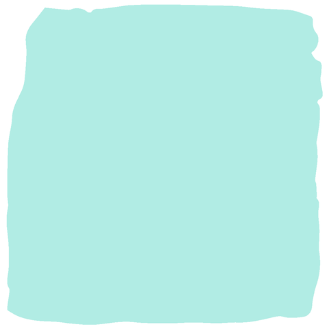 turquoise baby safe paint