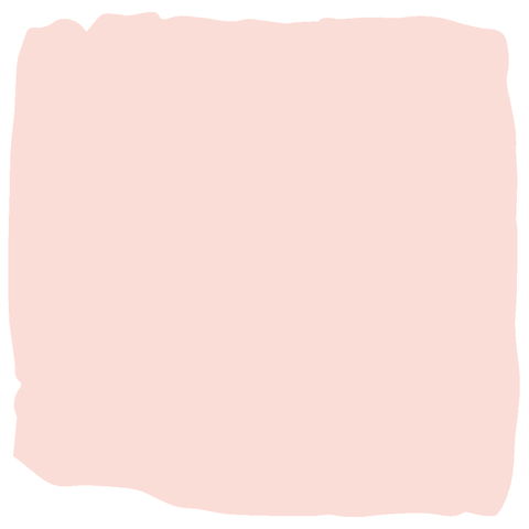 Pink baby safe nursery paint