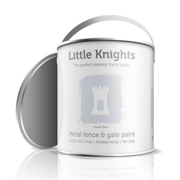 Powder Blue - metal paint - 100ml Sample Tin