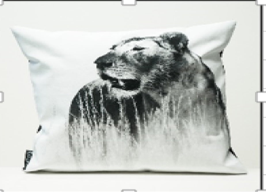 CUSHION COVER - lioness