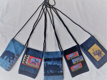 Load image into Gallery viewer, DENIM CELLPHONE BAG