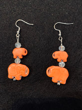 Load image into Gallery viewer, EARRINGS Elephant