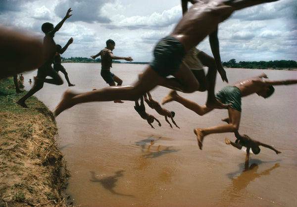 Bruno Barbey - The Amazon River. Leticia, Amazonas,Colombia, 1966