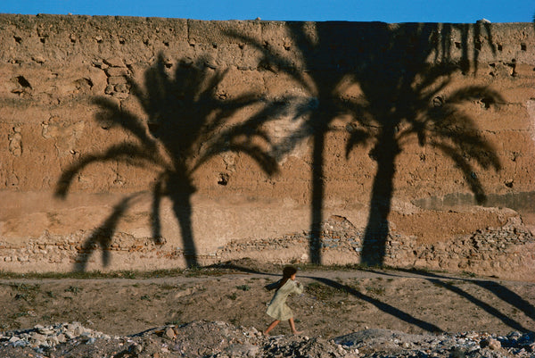 Bruno Barbey - The fortified ramparts. Marrakech, Morocco 1978