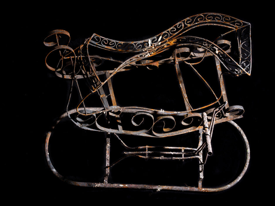 Carolyn Drake - Rocking Horse (after the Mendocino fire complex), Spring Valley, California, 2018