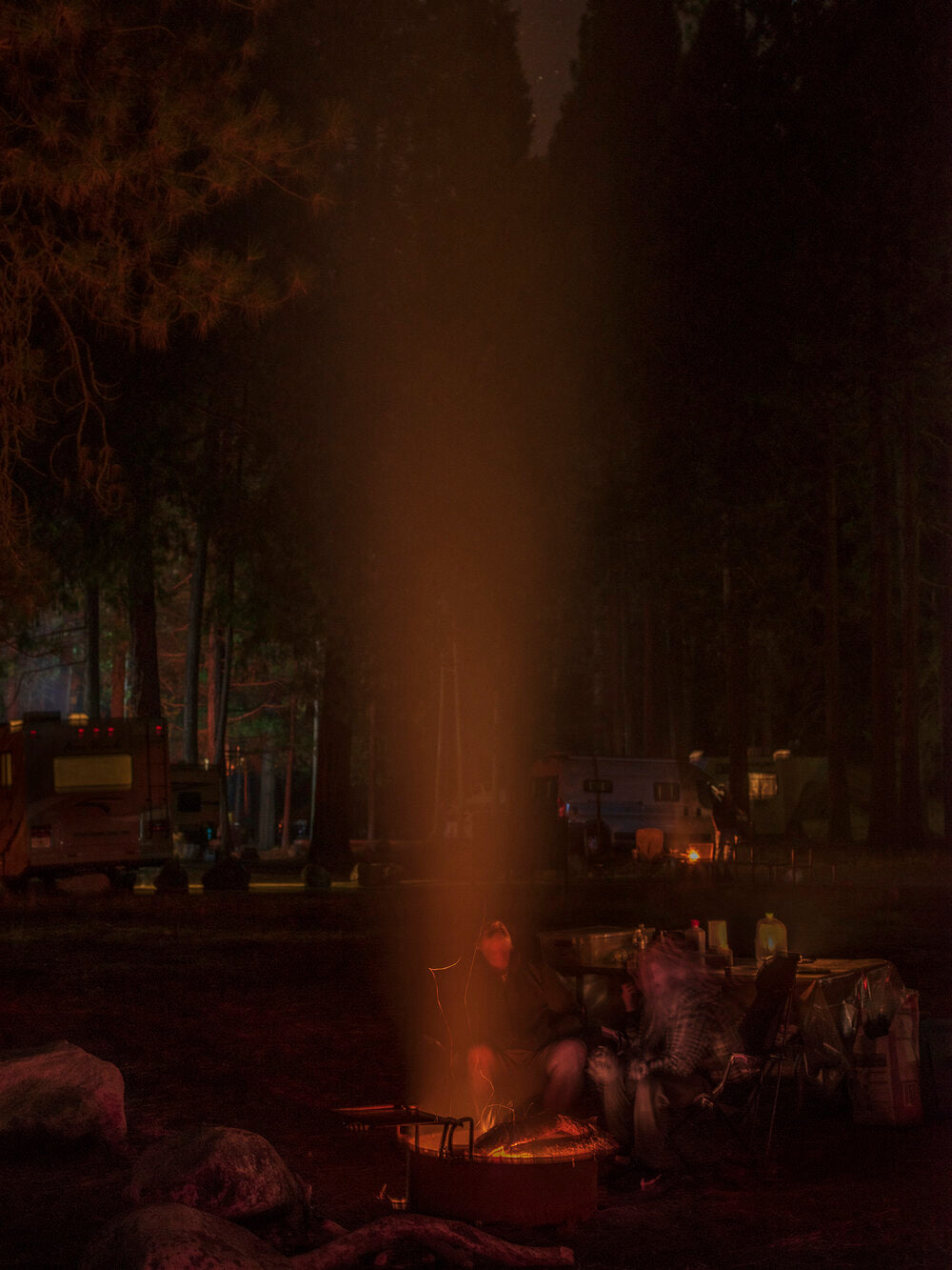 Carolyn Drake - Wawoma Campground (After Ferguson fire), California, 2018