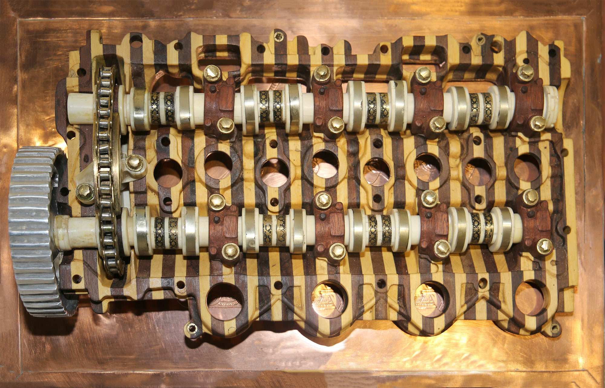 Eric Van Hove - Untitled (Peugeot-Citroën HDI Diesel Camshaft Housing & Rocker Assembly)