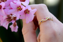 Load image into Gallery viewer, Pink Sapphire Twig Ring