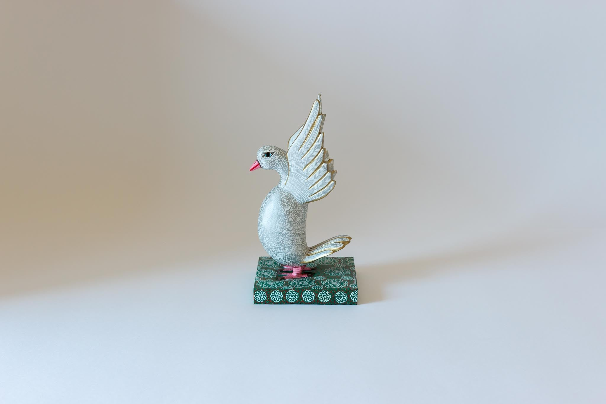 Dove on Pedestal