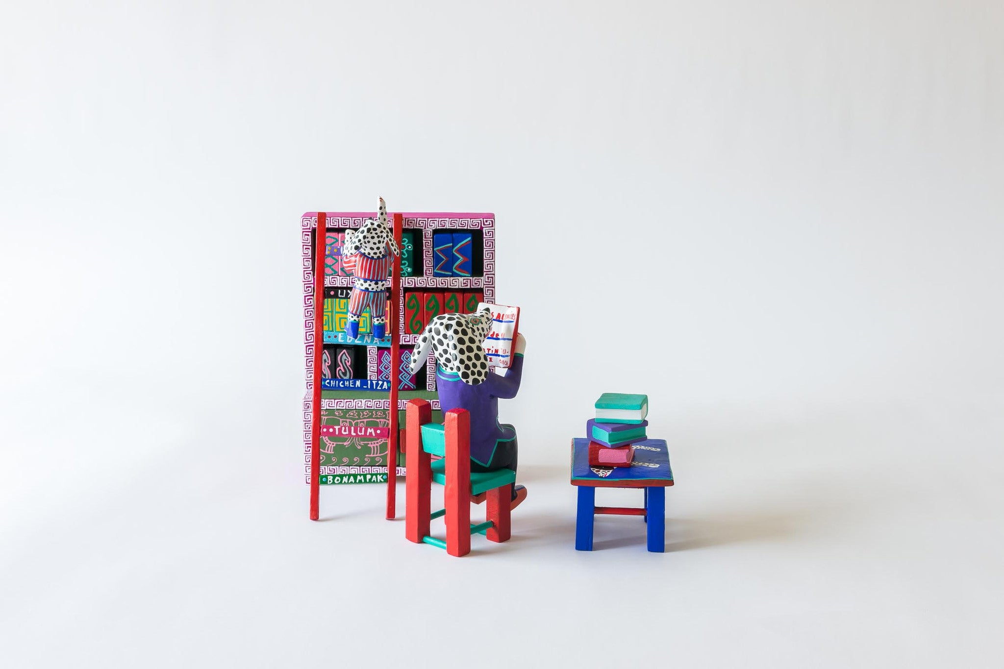 Library, Four Piece Scene