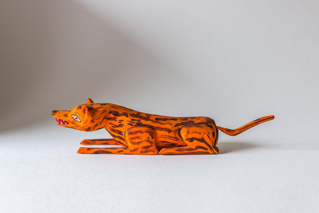 Orange Animal (Coyote)