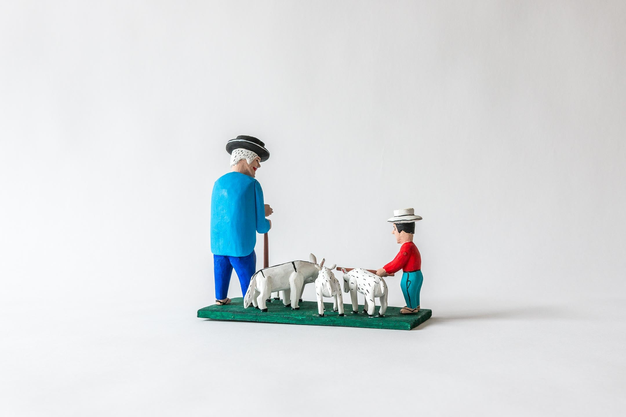 Shepherd, Boy and Sheep