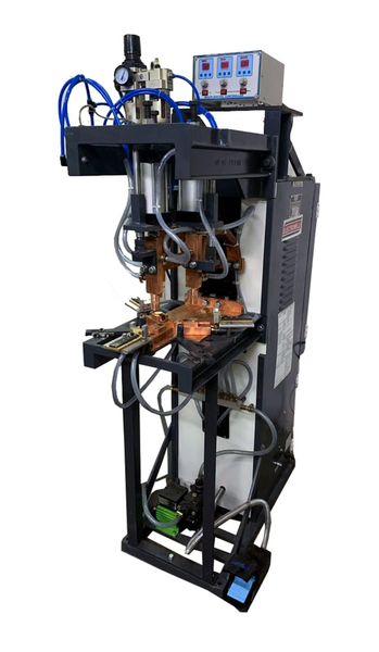 40KVA,3-Head Electroweld Press Type Projection Spot Welder,3-Head Press Type Projection Spot Welder in India,Multiple Head Press Type Projection Spot Welder,Press Type Projection Welder,Press Type Projection Spot Welding Machine,3-Head Circular Plate Projection Welder, 3-Head Projection Spot Welder,Multiple Head welder