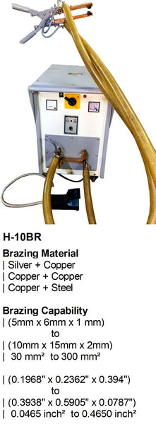 Electroweld Hand Operated Brazing Machine 10KVA (H-10BR)