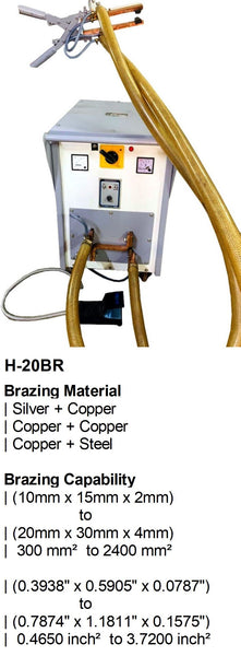 Electroweld Hand Operated Brazing Machine 20KVA (H-20BR)