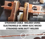 Electroweld Micro Stranded Wire Butt Welder 4KVA (SC-MBW-825CC: 0.79mm²-7.07mm²)