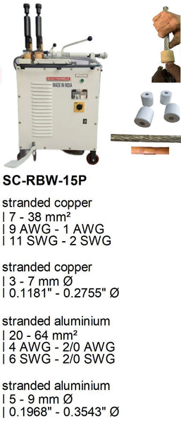 Electroweld Foot Pedal Operated Stranded Conductor Welder 15KVA (SC-RBW-15P)