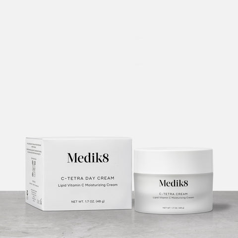 C-Tetra Day Cream by Medik8. A  lipid vitamin C moisturizing sream.