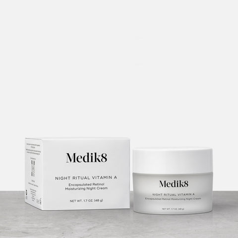 Night Ritual Vitamin A by Medik8. An encapsulated retinol moisturizing night cream.