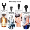 4-IN-1, RELIEVING PAIN, 3 SPEED SETTINGS BODY DEEP MUSCLE MASSAGER