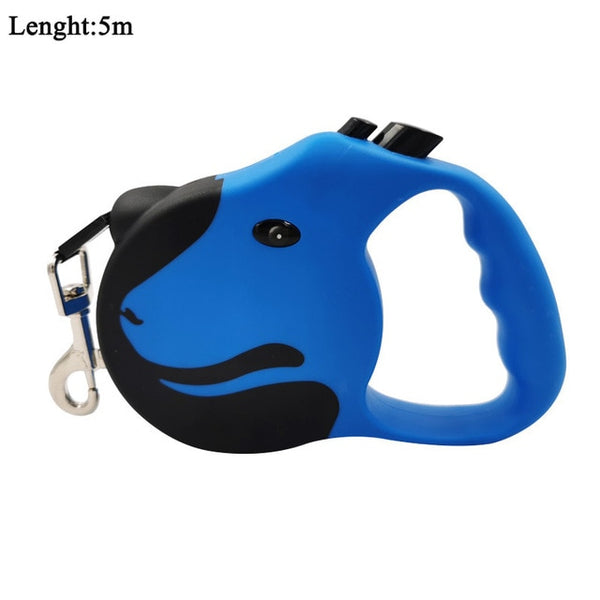 3M/5M Retractable Dog Leash Automatic Flexible Dog Leash Dogs Cat Traction Rope Leashes For Small Medium Dogs Pet Products